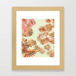 Stay Tropical Framed Art Print