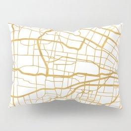 ST. LOUIS MISSOURI CITY STREET MAP ART Pillow Sham