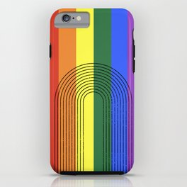 LGBTQ + Rainbow Love is Love iPhone Case
