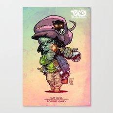 Z Gang - Rat King - Villains of G universe Canvas Print