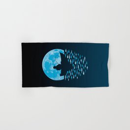 Hooked by Moonlight Hand & Bath Towel