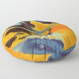 Heat wave Floor Pillow