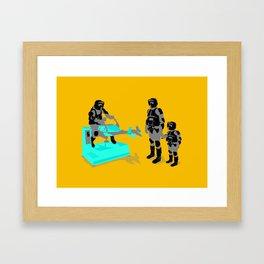 Biker Scout Wannabe Framed Art Print