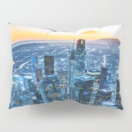 los angeles downtown Pillow Sham