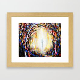 Land Wight Encounters I Framed Art Print