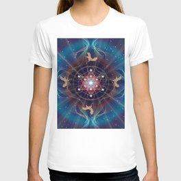 Metatron's Cube - Merkabah - Peace and Balance T-shirt