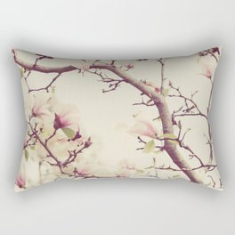 Blossoms and Branches Rectangular Pillow
