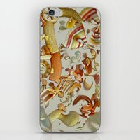 pasta iPhone & iPod Skins featuring Pasta Love by Bella Blue Photography