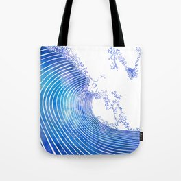 Pacific Waves III Tote Bag