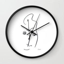 Demeter Moji d12 4-2 w Wall Clock