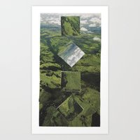 Rubbish Wormholes Art Print