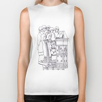 christian Biker Tanks featuring Christian service by Shelby Claire