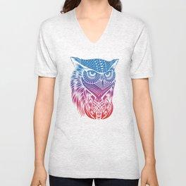 Owl of Color Unisex V-Neck