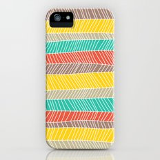 Beach Stripe (warm) Slim Case iPhone (5, 5s)