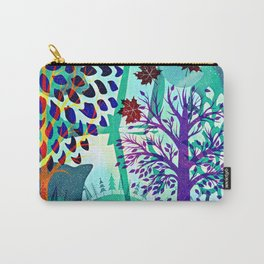 Automne blue Carry-All Pouch