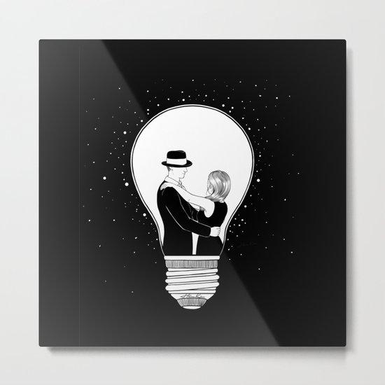 We light up the dark Metal Print