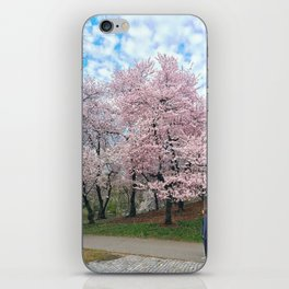 Spring, defined. iPhone Skin
