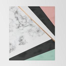 Marble III 031 Throw Blanket