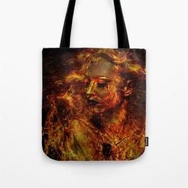 LUSTFUL FLAMES Tote Bag