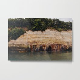 Pictured Rocks III Metal Print