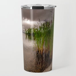 Driftwood And Cattails Travel Mug