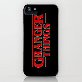 Granger Things ! iPhone Case