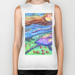 She Chases the Wind Biker Tank