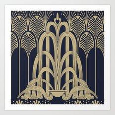 Gatsby Glamour Art Print