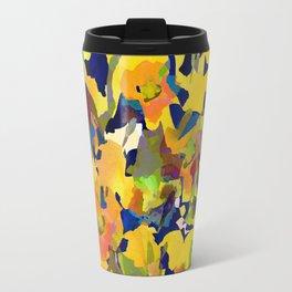 Daffodil Shadows Travel Mug