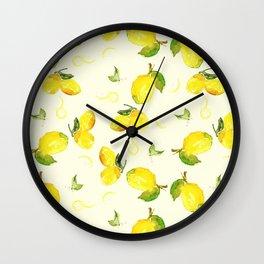 Lemon Social Wall Clock