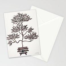 Bonsai Tree – Black Palette Stationery Cards