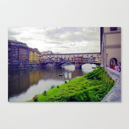Ponte Vecchio, Florence Canvas Print