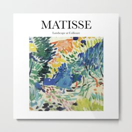 Matisse - Landscape at Collioure Metal Print