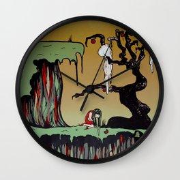 Sick Girl Wall Clock