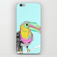 toucan iPhone & iPod Skins featuring Toucan by caseysplace