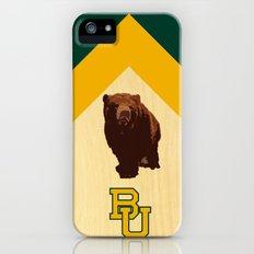 Baylor University - BU logo with bear iPhone (5, 5s) Slim Case