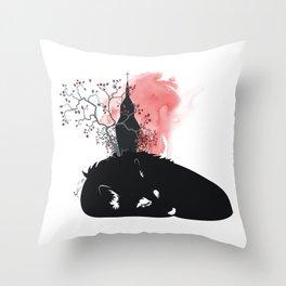 BIGBADWOLF Throw Pillow