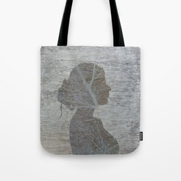 a natural silhouette, one  Tote Bag