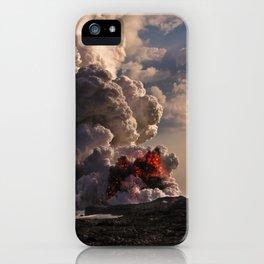 Kilauea Volcano at Kalapana 5 iPhone Case
