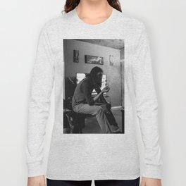 Smoking Nonchalantly Long Sleeve T-shirt