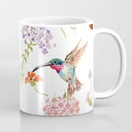 Hummingbird floral Coffee Mug