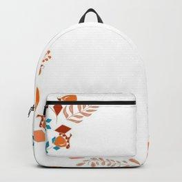 Flower crown illustration Backpack