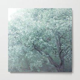 Monet Tree Metal Print