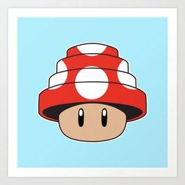 Are We Not Mushroom Art Print