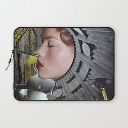 Ground Control  - Vintage Space Astronaut Collage Laptop Sleeve