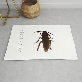 Everybody Gangsta Until Cockroaches Start Flying Insect Pest Roaches Rug