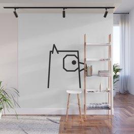 Minimalist Owl Wall Mural