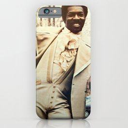 𝟞𝕂 𝔼ℕ𝕋. Society6 Online Music Photography - Wilson Pickett BLM Soul R&B Rock and Roll HOF 5568 iPhone Case