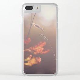 Autumn nature Clear iPhone Case