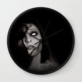 Even Angels Fall Wall Clock